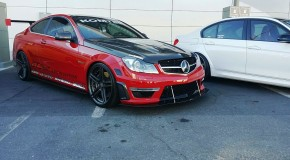 MERCEDES C63 AMG Facelift GT STREET CARBON PACKAGE