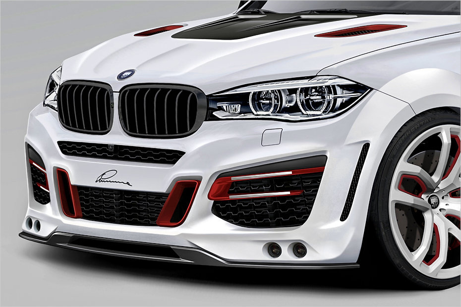 Lumma Desgin Clr R Upgrade Kit For Bmw X6 2015 Tuning Empire