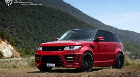 LUMMA-DESIGN CLR-RS Widebody kit for Range Rover Sport II