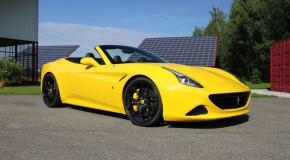 Novitec lowering springs for Ferrari California Turbo