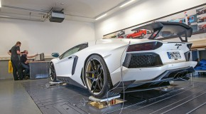 KW Suspension development for Lamborghini Aventador
