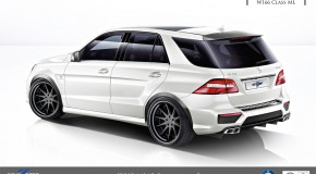 REVOZPORT 'REZONANCE' Carbon kit for ML 63 AMG W166