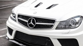 Mercedes C63 AMG Black Series carbon air vents