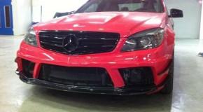 Mercedes C63 AMG Prefacelift - Black Series upgrade
