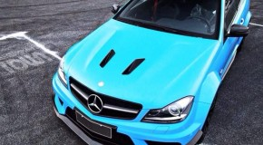 Mercedes C63 AMG Facelift 'Black Series' body kit