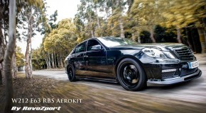 REVOZPORT Carbon Aerokit for Mercedes Benz E63 AMG