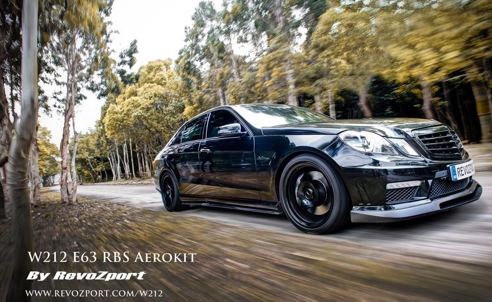 REVOZPORT Carbon Aerokit for Mercedes Benz E63 AMG