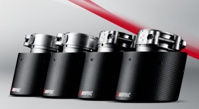 Akrapovic carbon exhaust tips