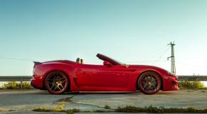 Fresh off the press - Novitec Ferrari California Turbo N-LARGO Widebody kit