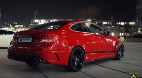 Mercedes Benz C-Class Coupe 'Black Edition' Body kit