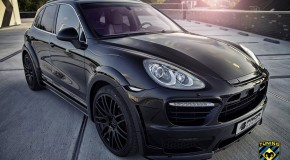 Porsche Cayenne 958 widebody kit by Prior Design Germany