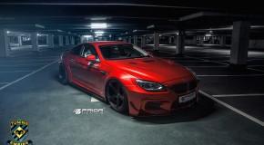 Prior Design BMW 6series and BMW M6 F12 widebody kit
