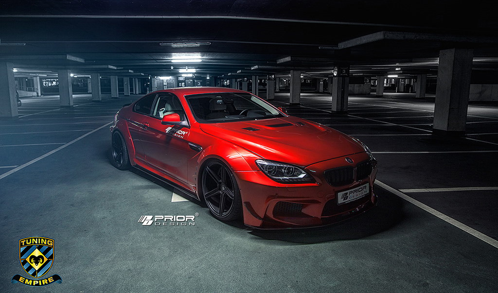 Prior Design BMW 6series and BMW M6 F12 widebody kit