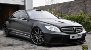 Prior Design 'Black Edition' widebody kit for Mercedes CL C216