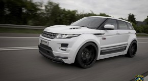 Range Rover Evoque widebody kit by Prior Design