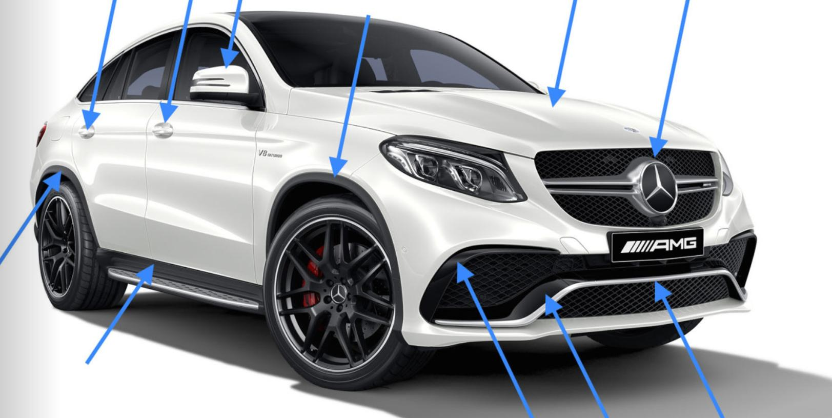 New Carbon Parts For Mercedes Benz Gle Coupe Tuning Empire