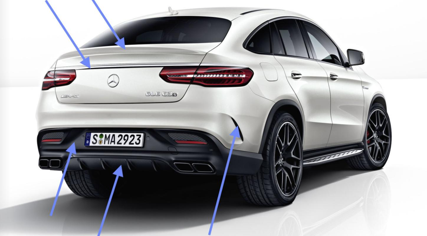 New carbon parts for mercedes benz gle coupe tuning empire for Mercedes benz upgrades