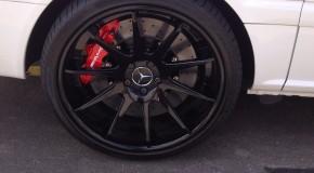 Mercedes Vito on Carbon Ceramic Movit Brakes - Happy Customer !