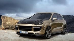 Porsche Cayenne body kit by Top Car
