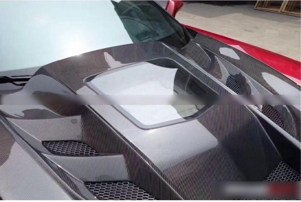 Corvette C7 Transparent Hood4