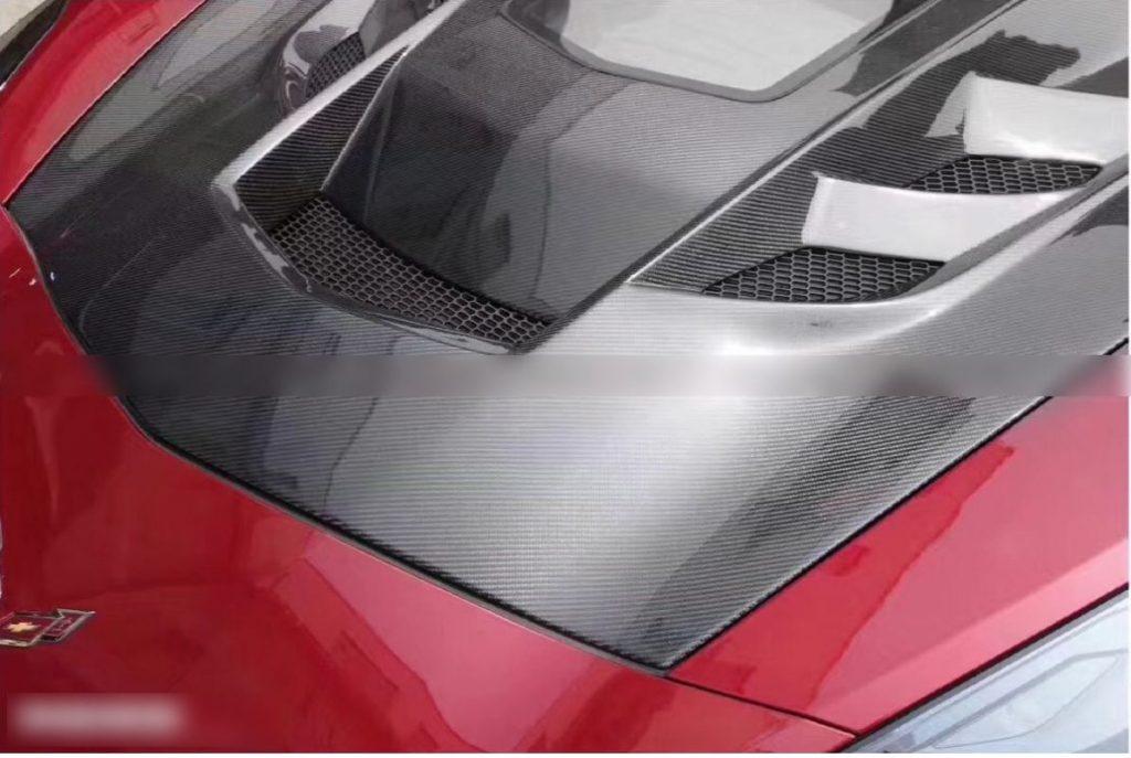 Corvette C7 Transparent Hood5