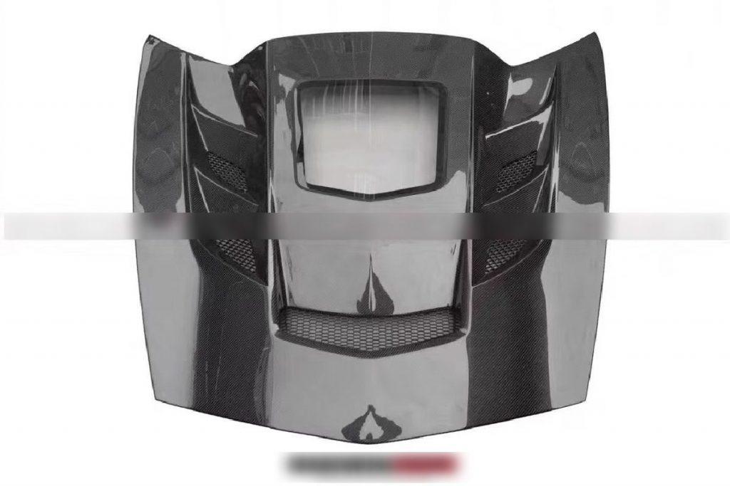 Corvette C7 Transparent Hood7