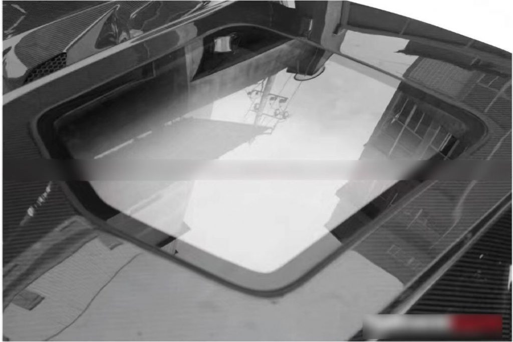 Corvette C7 Transparent Hood9