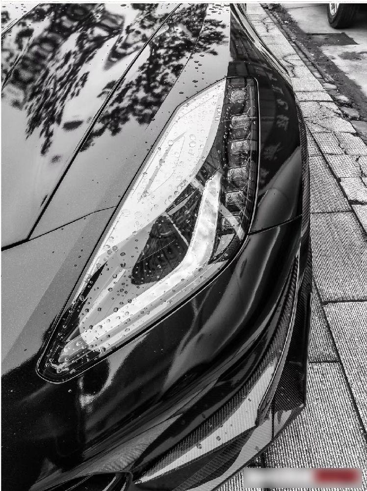 Corvette C7 Z06 front lip air vents rear diffuser (1)