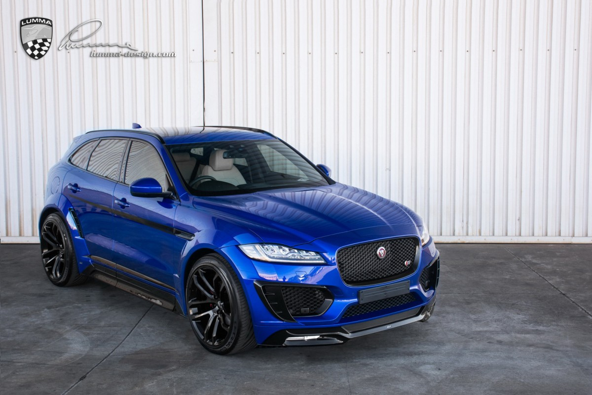 lumma design jaguar f pace clr f body kit tuning empire. Black Bedroom Furniture Sets. Home Design Ideas