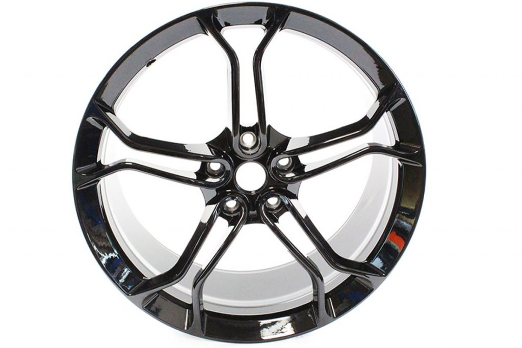 MCLAREN LIGHT WEIGHT 1 STEALTH ALLOY WHEELS ONLY IS MSO BLACK (2)