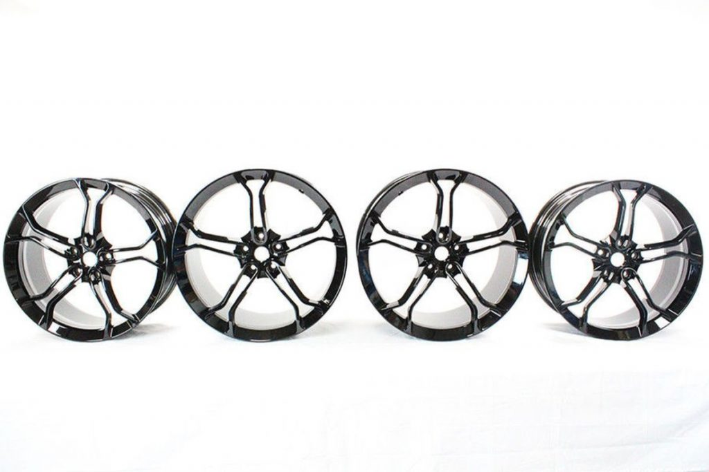 MCLAREN LIGHT WEIGHT 1 STEALTH ALLOY WHEELS ONLY IS MSO BLACK (4)