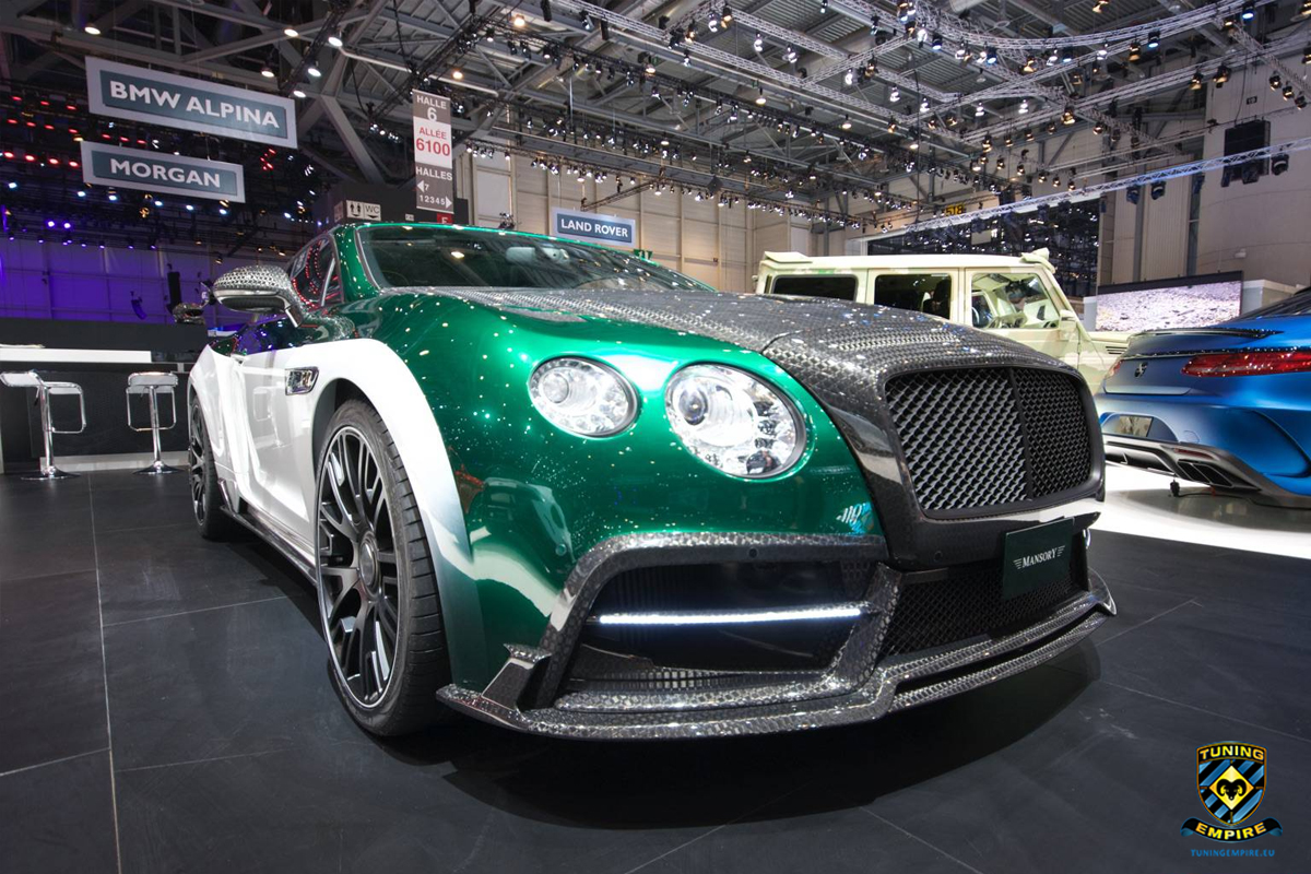 Mansory Bentley Continental Gt Race Tuning Empire