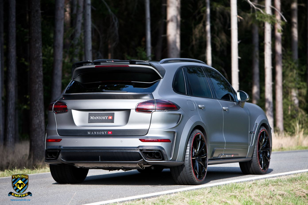 mansory porsche cayenne turbo tuning empire. Black Bedroom Furniture Sets. Home Design Ideas