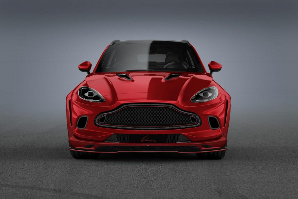 Red-Aston-Martin-DBX-Front